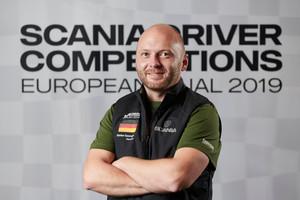 Bester Deutscher wurde Stefan Spengler aus Thüringen. (Quelle: Scania)