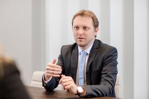 Wachstum durch Innovationen: IFAT-Geschäftsführer Stefan Rummel (Quelle: Messe München)