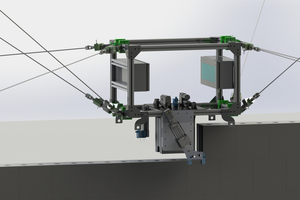 Seilroboter stellen einen innovativen, vielversprechenden Ansatz für die Automatisierung der Bauprozesse bei Kalksandsteinmauerwerk dar.<br />