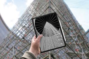 What you see is what you get: Mit Scaffolding Information Modeling – kurz SIM – hat Layher einen auf 3D-Modellen basierenden Prozess entwickelt. SIM bietet nicht nur einen Zugang zu BIM, sondern ermöglicht es auch, temporäre Gerüstkonstruktionen effizienter zu planen, zu montieren und zu managen. Das Traggerüst für den Bau eines Zuckersilos konnte mithilfe der 3D-Planung als ein Teilprozess von SIM optimal an die Gebäudegeometrie angepasst werden.