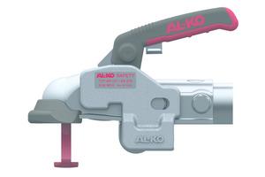 AL-KO Safety wurde speziell für die beiden Kugelkupplungen AK 161 und AK 270 entwickelt. Damit ist das Neuprodukt der erste am Markt verfügbare Diebstahlschutz für diese beiden Kupplungen.