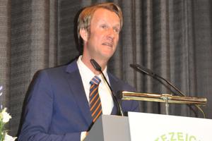 Der Vorstandvorsitzende der Gemeinschaft Ulf Michel.