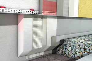 Die Sockelausführung einer WDVS-Fassade muss sorgfältig geplant werden – besonderes Augenmerk gilt dem Feuchtigkeitsschutz.