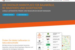 Relok optimiert Bauabläufe und verbessert Handling der Materialressourcen