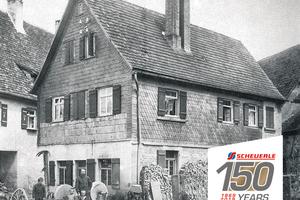 Die von Christian Friedrich Scheuerle 1869 erworbene Schmiede. (Quelle: TII Group)