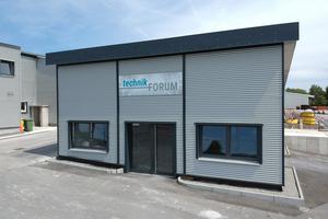 Ende Juni ist das neue technikForum auf dem Fasel-Werksgelände eröffnet worden.