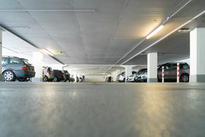 Sika sorgte mit einem Oberflächenschutzsystem im Karstadt-Parkhaus für dauerhaften Bauwerksschutz.