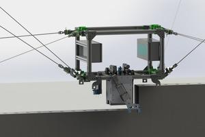 Seilroboter stellen einen innovativen, vielversprechenden Ansatz für die Automatisierung der Bauprozesse bei Kalksandstein-Mauerwerk dar.