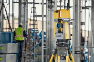 Der GTL-1000: Eine neue Generation von Robotik-Totalstation mit Scannerfunktion.