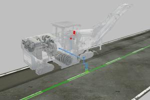 Hard- und Software-Lösungen zur Nivellierung: Nivellierausleger mit Ultraschallsensor