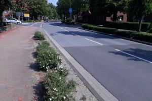 In Kreuzungsbereichen haben Betonfahrbahnen eine Reihe von Vorteilen.