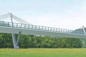 Talbrücke über die Schorgast.