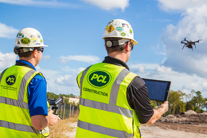 Dank technologischen Fortschritten bei der Datenerfassung lässt sich auf der Baustelle mithilfe von Drohnen Zeit und Geld sparen.