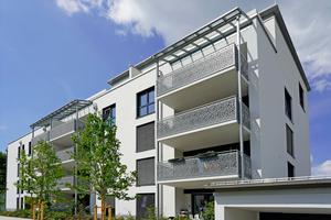 Erfolgreiches Pilotprojekt: Bei den Elisabethenhöfen in Freising wird der Schaummörtel erstmals zum Wandbaustoff.