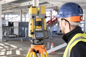 Die Scan-Robotik-Totalstation ermöglicht einen durchgängigen Workflow und beschleunigt so den Verifizierungsprozess auf den Baustellen.