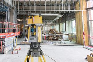 Durch die Scan-Funktion der GTL-1000 erfolgt die vollständige Dokumentation und Abbildung der später verdeckten Bauteile.