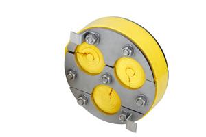 Um die Elektroinstallation sicher in Gebäude einführen zu können, gibt es neue Innendichtungen aus der Kabu-IN Familie, die bis zu drei Kabel aufnehmen können.