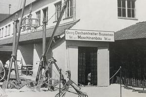 Firmengründung 1929. (Quelle: GEDA-Dechentreiter GmbH & Co. KG)