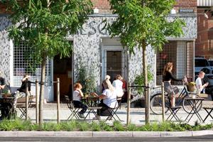 <strong>Klimafliese</strong> – die Technologie für ein ganzheitliches Regenwassermanagement in Kopenhagen wurde von dem dänischen Architekturbüro Tredje Natur sowie von ACO und dem Betonhersteller IBF entwickelt.