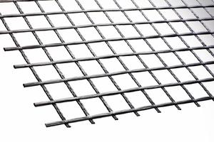 Das Soldian Grid fungiert in den Betonplatten als Bewehrung.