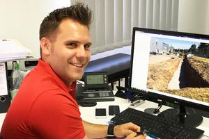 David Vierling, Bauleiter bei der CKS-Bau, schätzt die Vorteile der BIM-Methode bei seiner Arbeit.