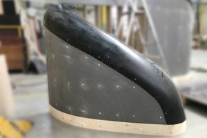 Sonderschalung für die Sächsische Aufbaubank in Leipzig: Das Stecksystem aus 3D-gedruckter Schalhaut und CNC-vorgefertigten Plattenwerkstoffen sparte 90 Prozent der sonst üblichen Montagezeit.
