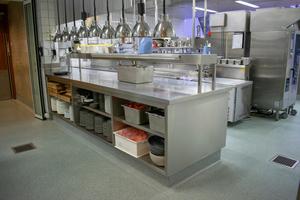 """Parallel wurde der Küchenboden der Museumsgastronomie """"Bertha´s Restaurant"""" mit einem LW Küchen-Terrazzo erneuert."""
