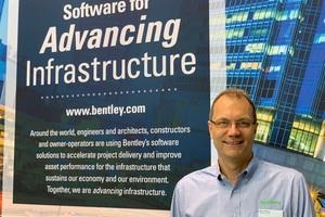 Robert Mankowski, Vice President Digital Cities bei Bentley Systems, ist Experte für Smart Cities, Stadtentwicklung und Digitale Zwillinge.<br />