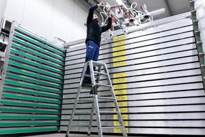 Die neue Generation des Leiterschuhs nivello bietet ein Plus an Arbeitssicherheit und Flexibilität.<br />
