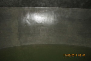 Die Wasserkammer – nach der Beschichtung