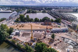 Der Elbtower soll nach seiner geplanten Fertigstellung im Jahr 2025 mit 244 m das höchste Gebäude Hamburgs werden.