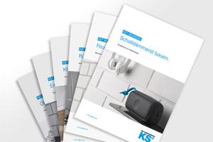 Die neuen Themenhefte liefern anschaulich nützliche Informationen und arbeiten die Vorteile der KS-Bauweise heraus.
