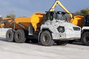 Die Muldenkipper der Gewichtsklasse 30 bis 45 Tonnen werden 2020 erhältlich sein.
