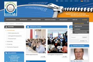 Auf der Homepage stehen vier verschiedene Bereiche für Mitglieder der Gütegemeinschaft zur Verfügung.