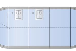 Für den Windpark Kreuzstein wurden nur die halbrunden Endstücke vor Ort zu jeweils einem zylindrischen Behälter mit 6 m Durchmesser zusammengeschraubt. So entstanden drei runde Löschwasserbehälter, jeder mit 32 m³ Nutzvolumen.