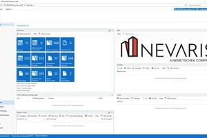 Übersichtlich und Modular aufgebaut: Nevaris Finance