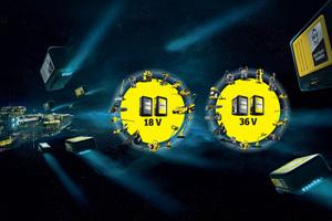 """Kärcher stellt sein neues, über 40 Geräte umfassendes """"Kärcher Battery Universe"""" vor."""