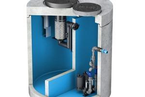 Die neuen ACO Kompaktanlagen: Abscheider, Schlammfang, Probenahmestelle, Pumpstation und Rückstauschutz in einem.<br />