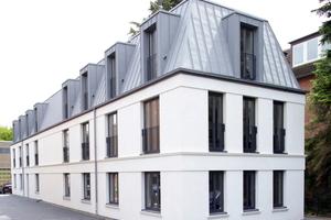 Modernes Bürogebäude in Ziegel-bauweise: Im Hamburger Ortsteil Lokstedt wurde getreu regionaler Verbundenheit zum Mauerwerk ein Bürogebäude aus hochwärmedämmenden Unipor-Ziegeln errichtet.