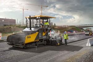 Der neue Fertiger P8820D von Volvo Construction Equipment (Volvo CE) ist auf höchste Produktivität beim Einbau ausgelegt.