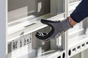 Ein in den Querprofilen eingebauter Ankerlochschutz sorgt für hohe Einsatzzahlen.