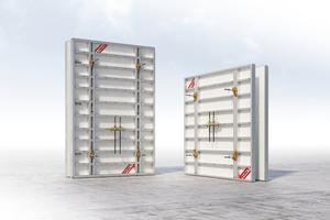 Mammut XT (links) und StarTec XT vereinfachen den Schalungsaufwand auf der Baustelle.