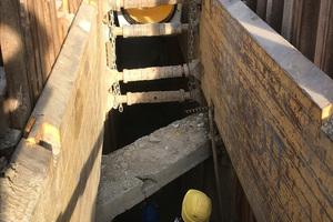 Die Verlegefreundlichkeit der Rohre bestätigte sich auch auf der Baustelle in Innsbruck.