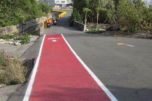 <p>Für die Farbstabilität, z. B. bei Verkehrsrot, sorgt der großzügige Anteil von hochwertigen Pigmenten. </p>