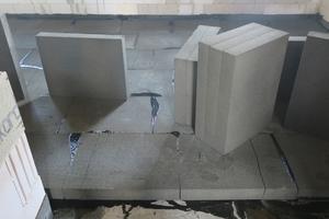 Für den Hochwasserschutz prädestiniert: Schaumglas nimmt aufgrund seiner geschlossenzelligen Struktur kein Wasser auf.