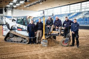 Das Fair Ground Team v.l.n.r.: Christopher Franke, Kevin Dettmeier, Andreas Busch, Ekhard Dettmeier, Alexander Schmidt, Paul Smitz.