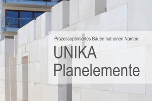 Eine informative Broschüre zum prozessoptimierten Bauen ist auf der Unika Website www.unika-kalksandstein.de direkt downloadbar.