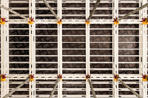 Das metrische Raster der Skymax Großpaneele und nur wenige unterschiedliche Bauteile vereinfachen die Planung und Schalungsmontage gleichermaßen.<br />