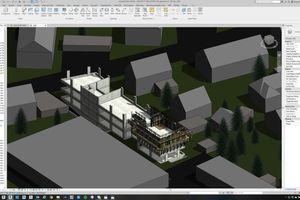 Doka setzte unter anderem die Software DokaCAD for Revit zur Abbildung der Schalungslösungen für das Bürogebäudeprojekt SOFiSTiK in Deutschland ein.<br />