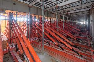 Die Tragwerkskonstruktion aus Variokit-Systemkomponenten sorgte für eine sichere und kostengünstige Lastableitung bei der Herstellung der auskragenden Decken.<br />